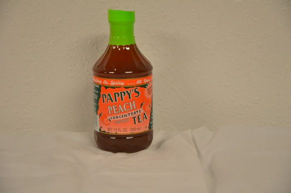 Pappy's Peach Concetrate Tea