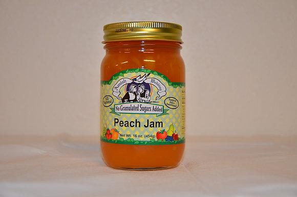 Peach Jam (No Sugar Added)