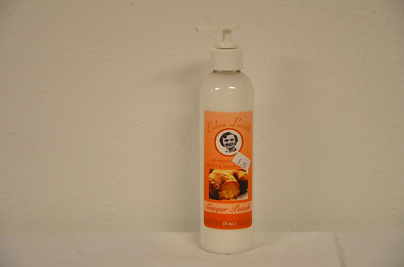 Ginger Peach Hand and Body Lotion