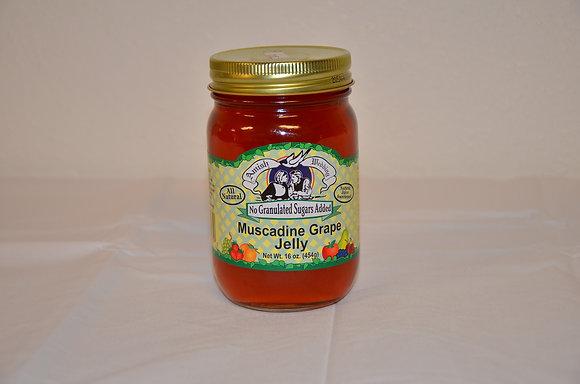 Muscadine Grape Jelly (No Sugar Added)