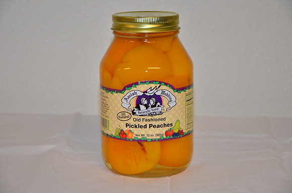 Old Fashioned Pickled Peaches