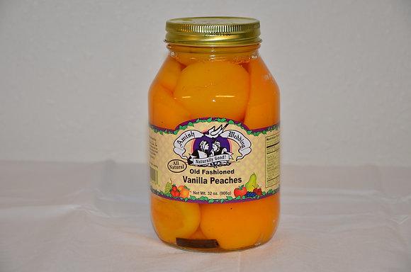 Old Fashioned Vanilla Peaches