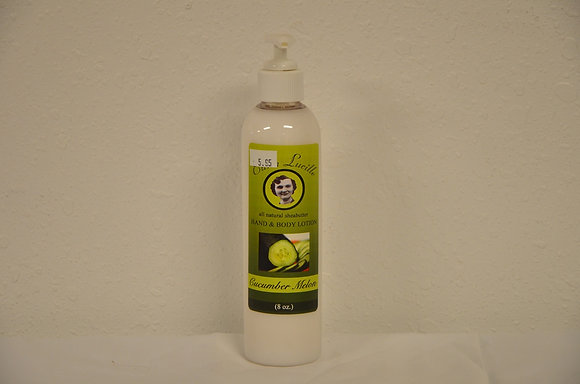 Cucumber Melon Hand and Body Lotion
