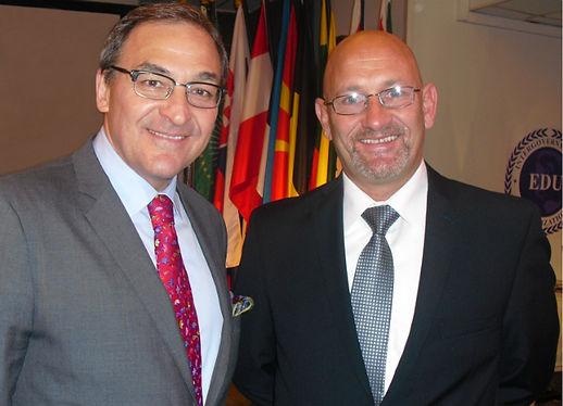 Martin_Cauchon_with_Secretary-General_Le