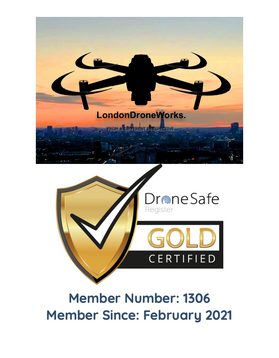 London Drone Works become a Drone Safe Register Gold Certified Member!