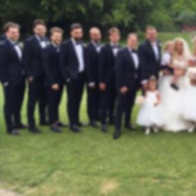 Yates made to measure weddings, navy sin