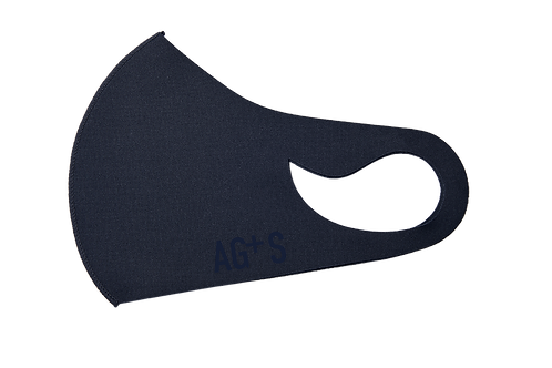 AG+S SUMMER MASK / NAVY (SILK PRINT)