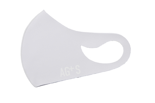 AG+S SUMMER MASK / WHITE (SILK PRINT)