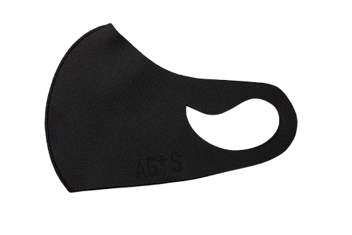 AG+S SUMMER MASK / BLACK (SILK PRINT)