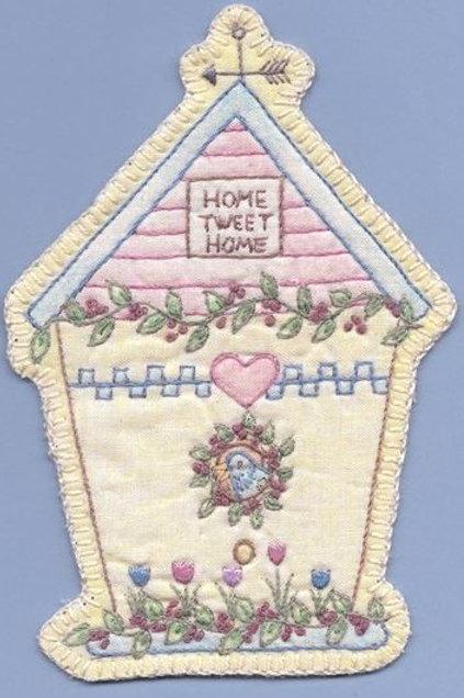 CK SP13 Heirloom Birdhouse Ornament