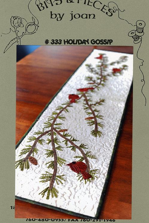 BPJ333 Holiday Gossip