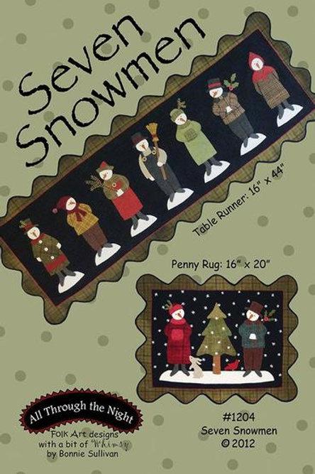 ATN1204 Seven Snowmen