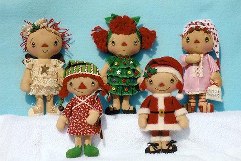 HHF312 - Christmas Gathering Ornies - The Girls
