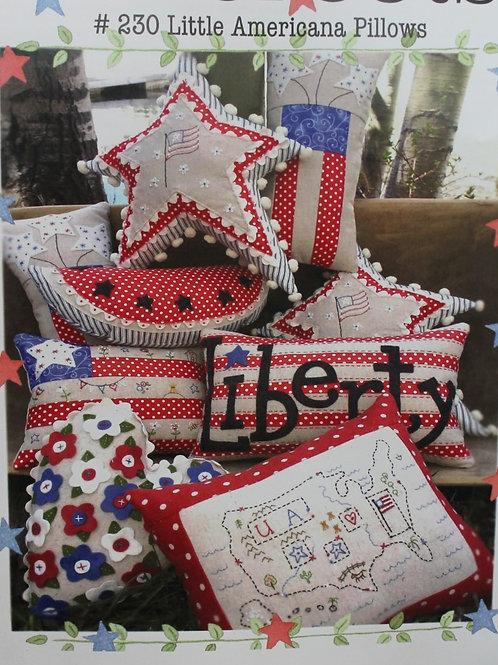 BR230 Little Americana Pillow