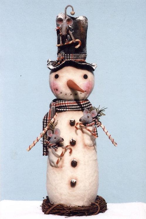 HHF456 - Snow Sweet Gathering Snowman