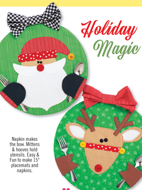 CG179 - Holiday Magic Placemats & Napkins
