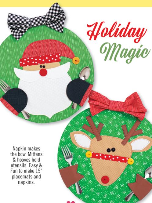 CG179 - Holiday Magic Placemats & Napkins
