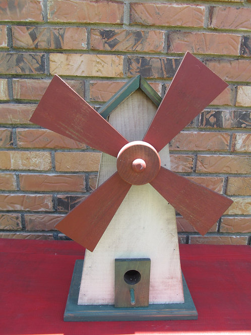 WC911 - Windmill Birdhouse