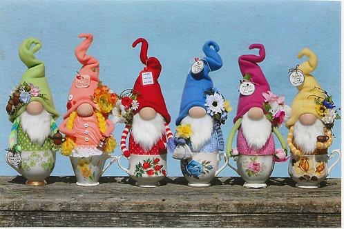 HHF527  Tea Time Gnomes
