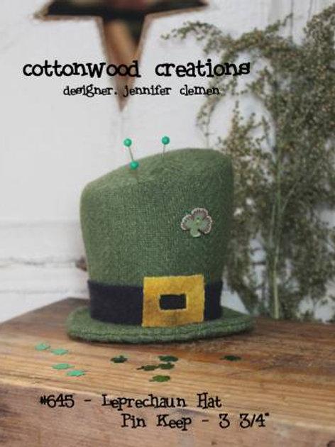 CWC645 Leprechaun Hat Pin Keep
