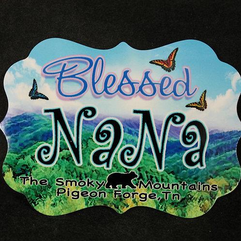Aluminum Magnet -Blessed Nana - SMSPM009