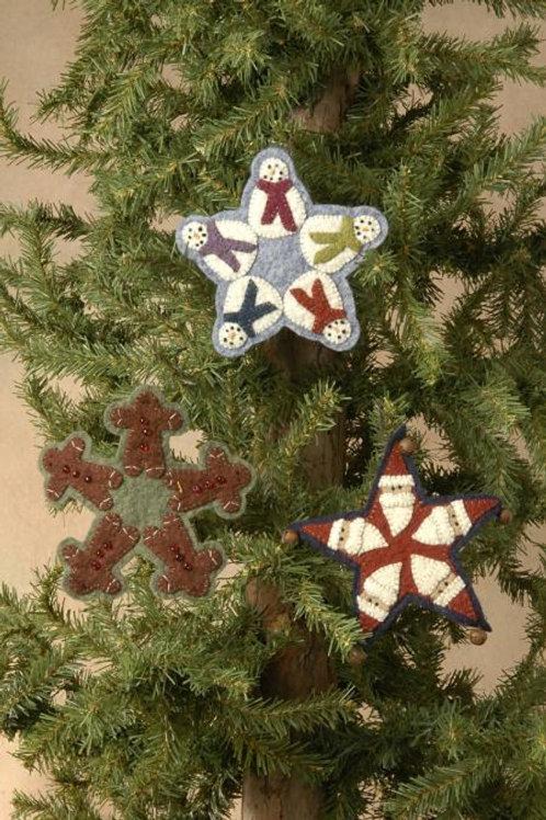 BPJ 251 Holiday Trio Ornaments