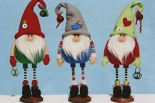 HHF494 - Roly Poly Stnading Gnomes
