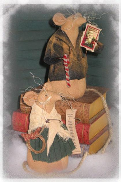 CF 852 Christmas Mice