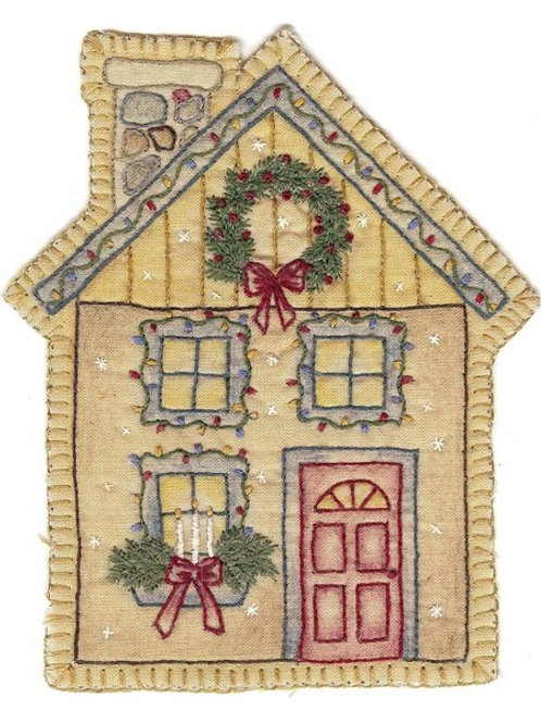 CK XMAS 12 House Ornament