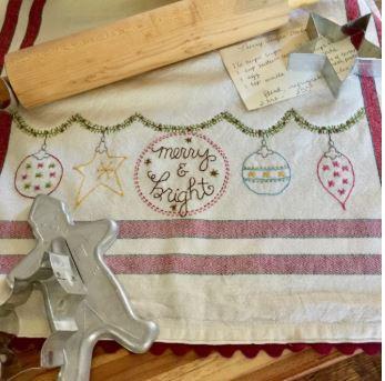Br Ornament Tea Towels Pattern Or Kit