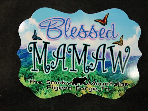 Aluminum Magnets - Blessed Mamaw - SMSPM010