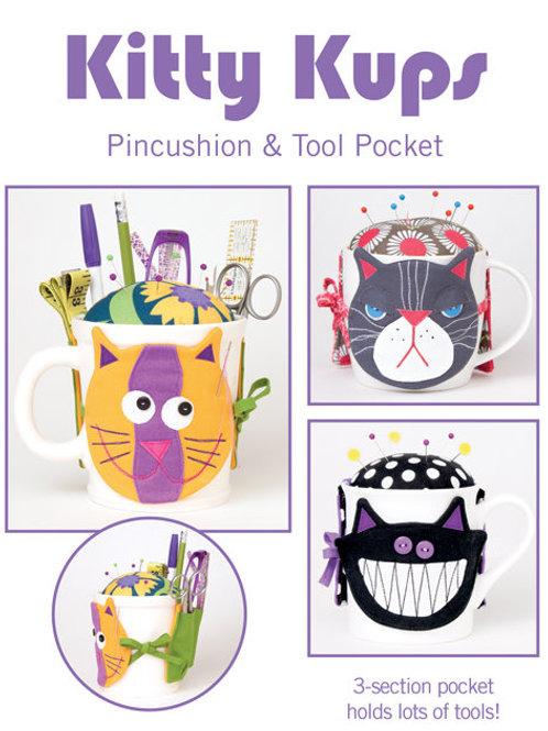 CG169 - Kitty Kups Pincushions & Tool Pocket