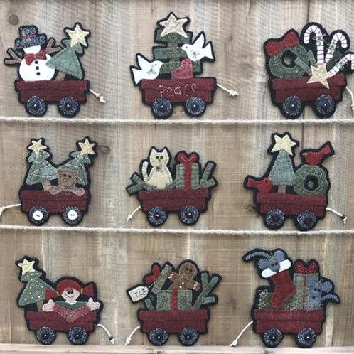 WSD1804 - Christmas Wagons