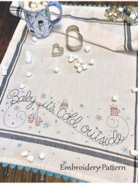 BR250 - Baby it's Cold Outside - Pattern or Kit