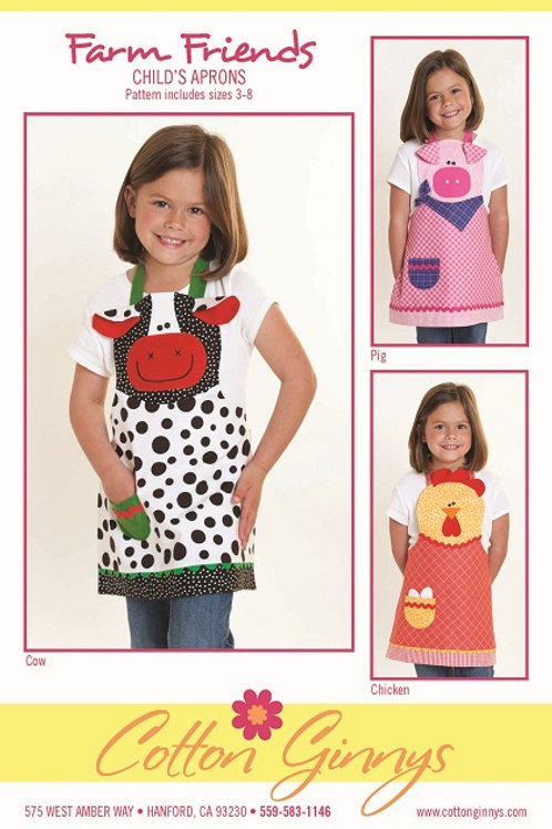 CG153 - Farm Friend's Aprons