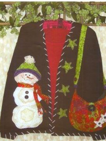 KS 271 - Quilted Snowman