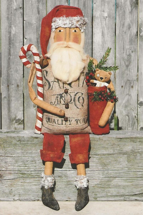 HHF476 - Sitting Sack Santa