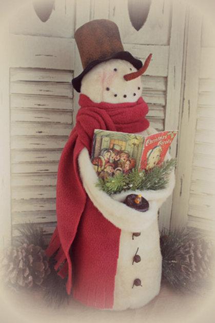 CF 904 Caroling Snowman