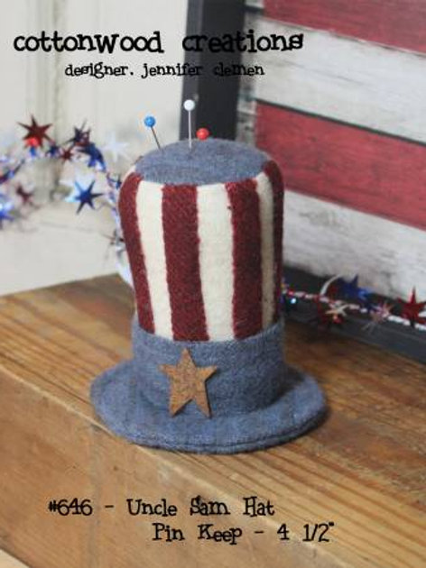 CWC646 - Uncle Sam Hat Pin Keep