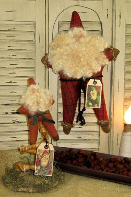 CF820 - Vintage Star Santa