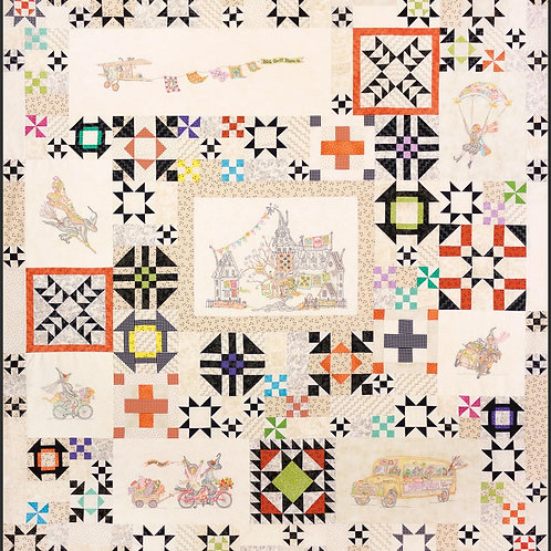 CAH2568 - The Stitchwitch Spellbinders Quilt Show #9 Quilt Assembly