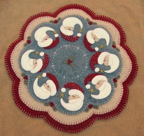 PLP Believe Candle Mat Primitive Patterns Tennessee The Delectable The Pattern Hutch
