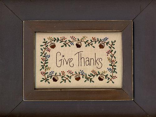 MAC102 - Give Thanks