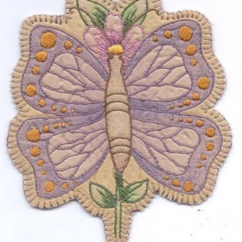 CK SP09 Heirloom Butterfly Flower Ornament