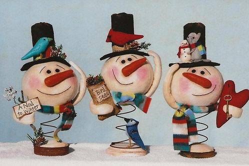 HHF506 - Snowman Nodders
