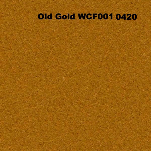 Old Gold WCF001 0420 Fabric 20/80