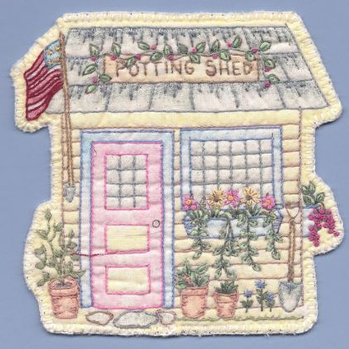 CK SP17 Heirloom Potting Shed Ornament