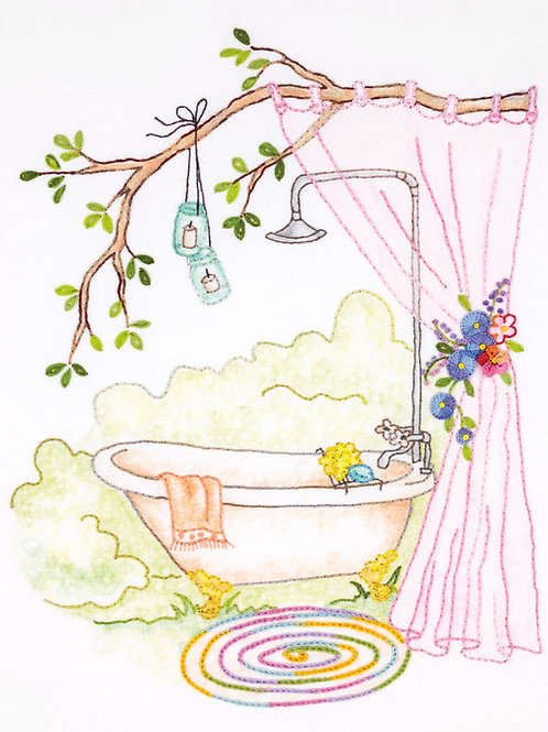 CAH2554 - Girls' Getaway #2 Clawfoot Tub