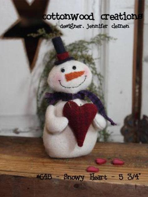 CWC648 - Snowy Heart