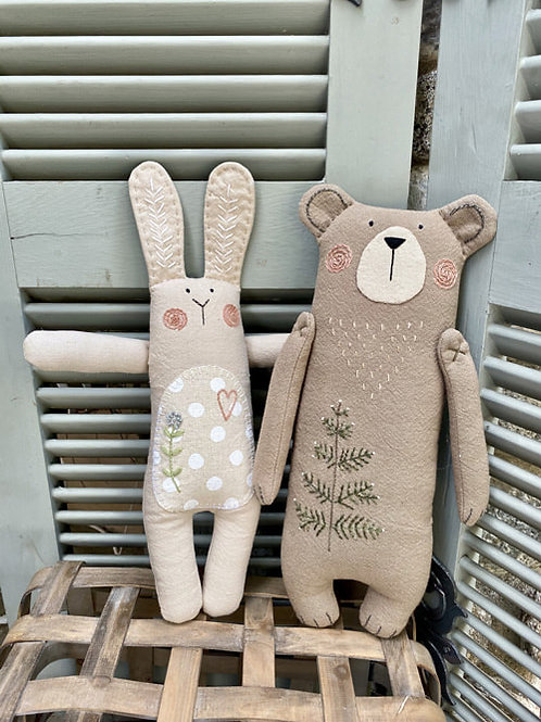HTH400 Forest Friends - Bunny & Bear